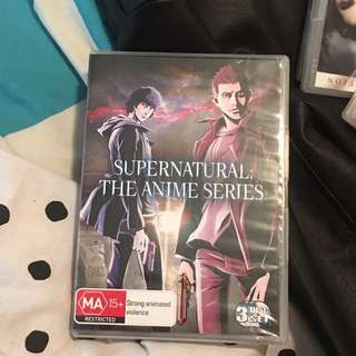 Anime Supernatural Edition