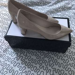 Pink NineWest Heels Size 5