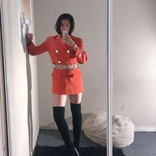 Vintage Jacket Dress