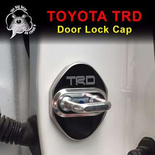 Toyota TRD Car Door Lock Caps