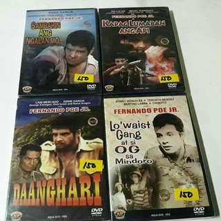 FPJ Fernandoe Poe JR. DVD Tagalog Movies