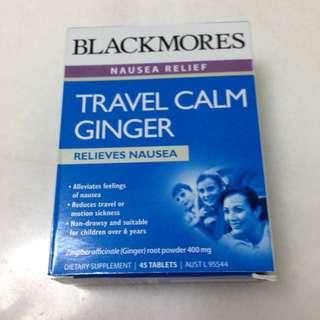 Blackmores Nausea Relief Travel Calm Ginger
