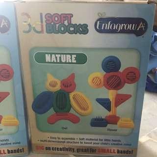 Children's Toys - Soft Blocks