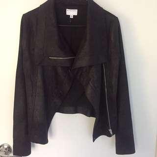 Witchery Biker Jacket Size 6