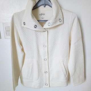 Large Style&Co Cotton Poly Jacket