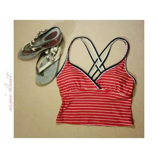 swimsuit + slippers ☀