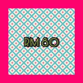 ALBUMS LISTED RM80 ONLY