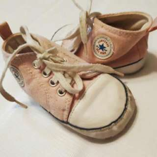 Pink Converse Soft Sole Shoes