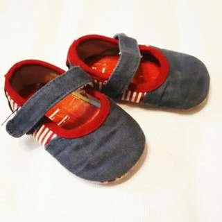 Elle Denim Soft Sole Shoes