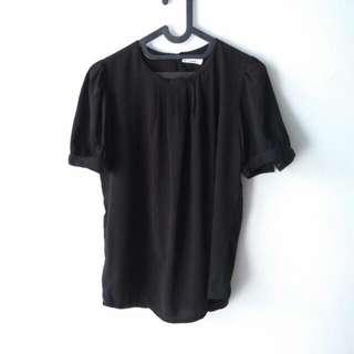 Sale Atasan (Shirt) Big Size Black Size XL