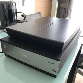 Epson gtx980 scanner
