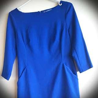 Gap Royal Blue Dress
