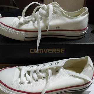 Converse All Star White Sneakers (Unisex)