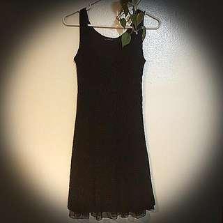 Made In Canada Designer Black Dress