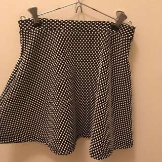 Top shop Petite Polka Dotted Skirt
