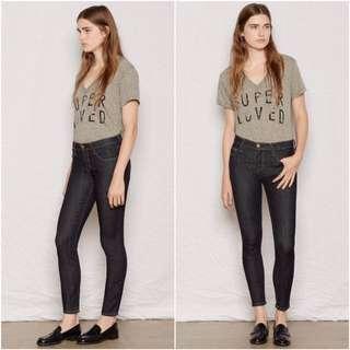 Current/Elliott 'The Stiletto' Skinny Jean / Size 28