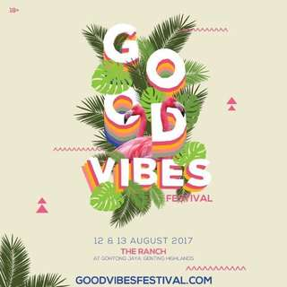 Good Vibes 2017 Malaysia Tickets-2 Days