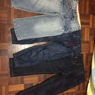 long jeans size 110 and h&m 4-5yrs