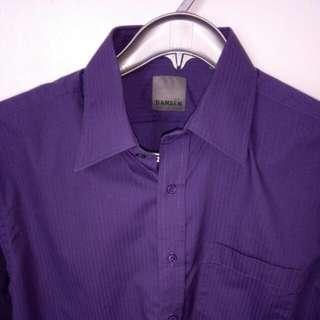 Large Dansen Slim fit Long Sleeved Dress Shirt