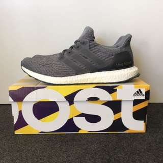 Adidas Ultra Boost 3.0 Mystery Grey US 10.5/ UK 10 (New)