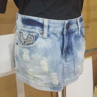 M號牛仔短裙