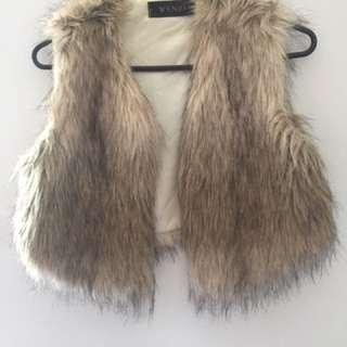 Faux Fur Winx Vest