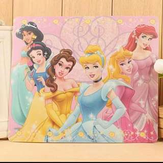 disney princess snow white cinderella beauty and the beast mousepad mouse pad