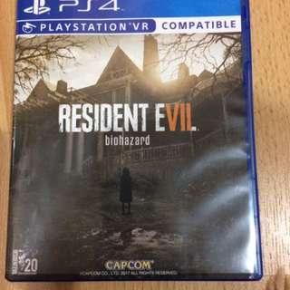Kaset Ps 4 Resident Evil 7