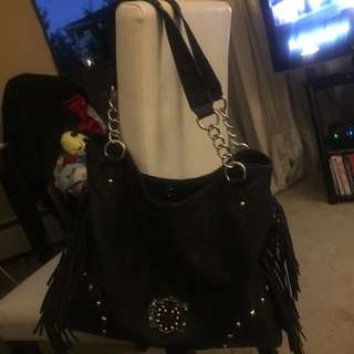 Kathy KVZ Black Purse