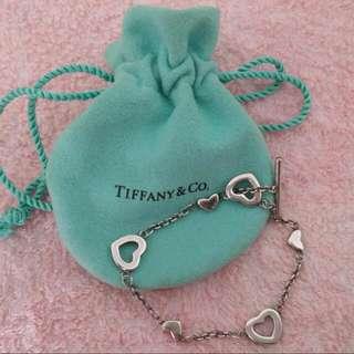 Tiffany 925心心手鍊