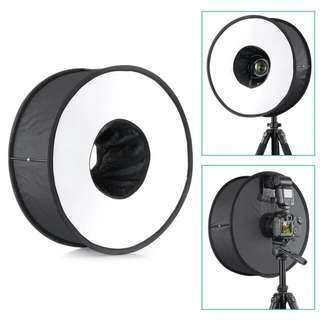 45cm Ring Flash Diffuser Softbox  for Macro and Portrait Photography