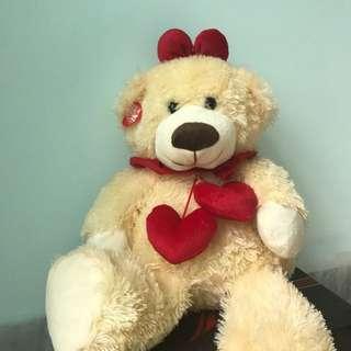 Big Fluffy Bear Doll