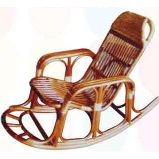 【南洋風休閒傢俱】藤椅系列-大條搖椅 原藤椅 老人天然藤搖椅 休閒搖椅 762-6