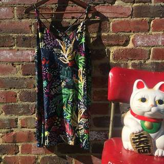Topshop Graphic Dress