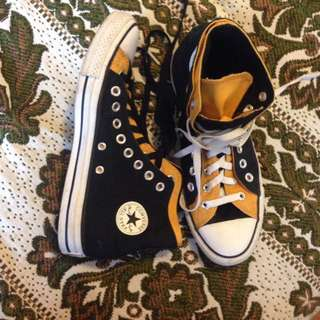 Converse Double Upper Layer High Tops (9)