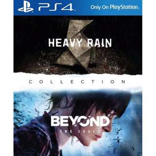 (Brand New Sealed) PS4 Game Heavy Rain and Beyond
