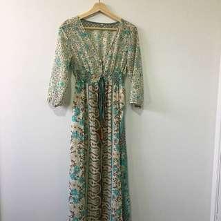 Size 8 Boho Maxi dress