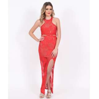 Red Bodycon Balldress