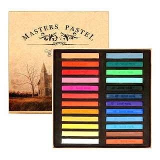 Maries 24 Colour Pastel