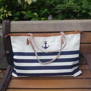 Sailor Summer Tote Bag