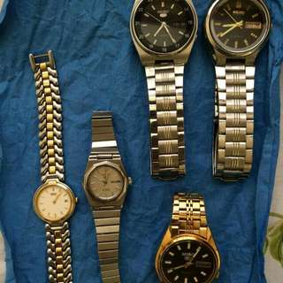 Prevalentine Repriced!!!  Affordable Seiko Watches