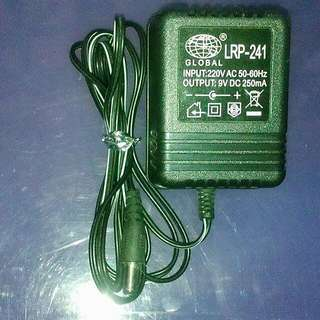 global adaptor 9 volts for electronic keyboard