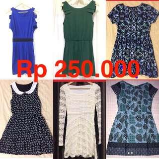 6 Dresses For 250.000