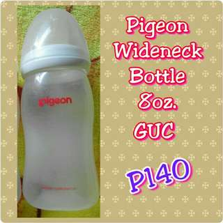 Pigeon wideneck bottle 8oz.