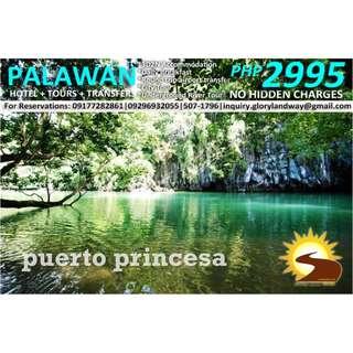 PUERTO PRINCESA TOUR PACKAGE 3D2N