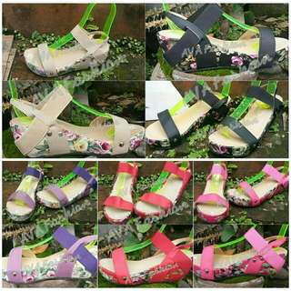 Kid's Wedges / Mother And Daughter Terno