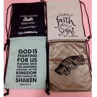 STRING BAG FAITH