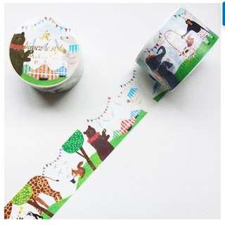 紙膠帶分裝🔸ALS 動物馬戲團🤹🏻♀️