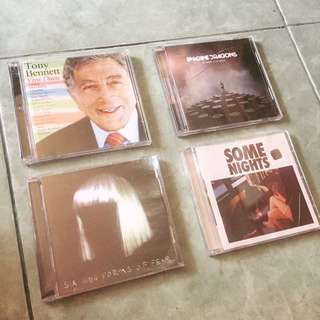CD Tony Bennet, Sia, Avenged Sevenfold Dll