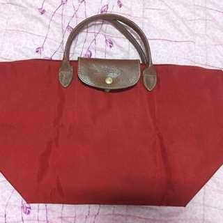 Longchamp 短帶 M號